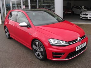 used VW Golf R 2.0TFSi 300PS 4motion 5dr DSG WITH EXTRAS in louth