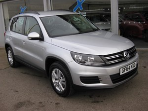 used VW Tiguan S 2.0TDi (110PS) 5dr Bluemotion Tech 2WD in louth
