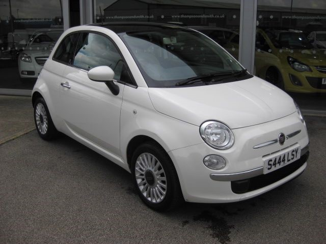 used Fiat 500 Lounge 1.2i 3dr Start/Stop RAC Warranty in louth