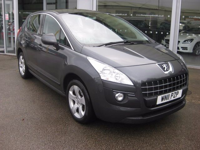 used Peugeot 3008 Crossover 1.6HDi 112PS Sport 5dr RAC Warranty in louth
