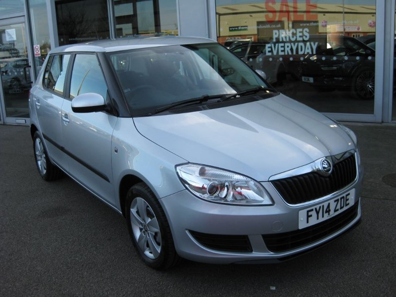 used Skoda Fabia SE 1.2 5dr 70PS in louth