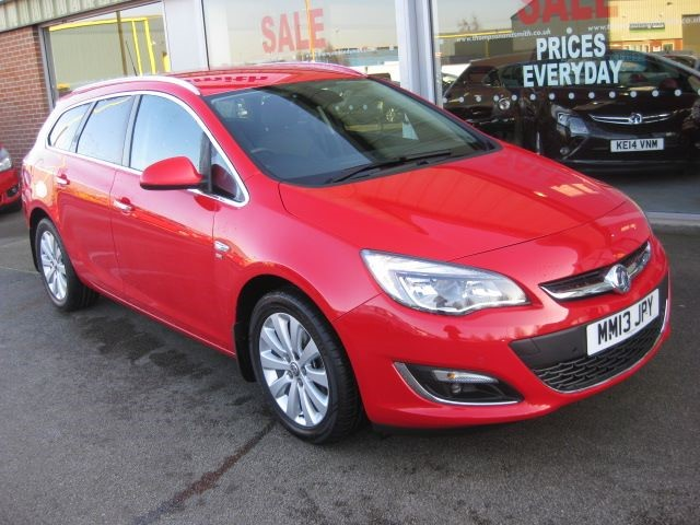 used Vauxhall Astra Sports Tourer SE 2.0CDTi 165PS 5dr Estate Auto in louth