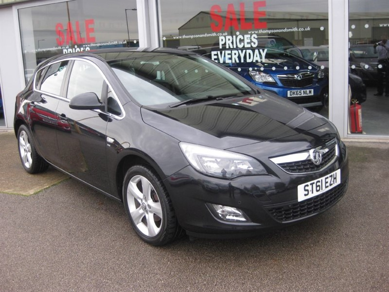 used Vauxhall Astra SRi 1.4 16v 100PS 5dr RAC Warranty in louth