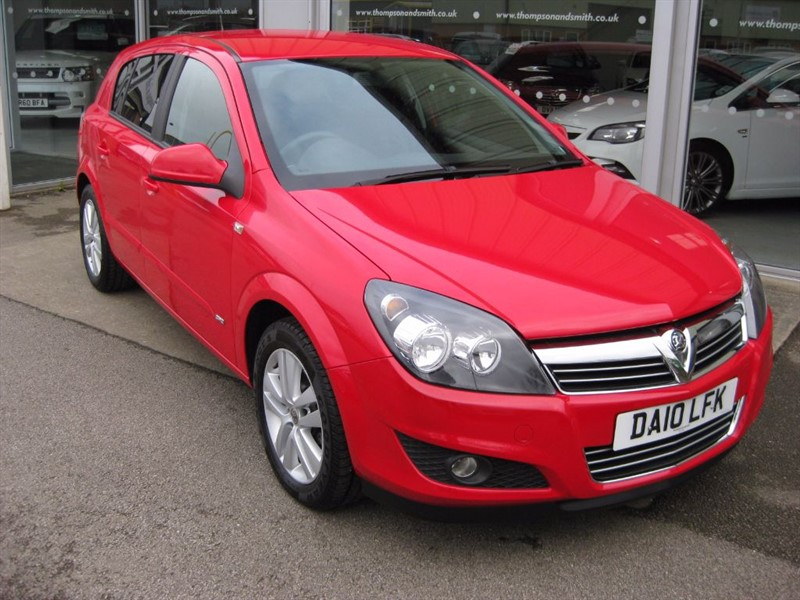 used Vauxhall Astra SXi 1.6i 16v 115PS 5dr LOW MILEAGE RAC Warranty in louth