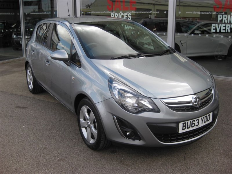 used Vauxhall Corsa SXi 1.2i 16v VVT 5dr A/C DAB in louth
