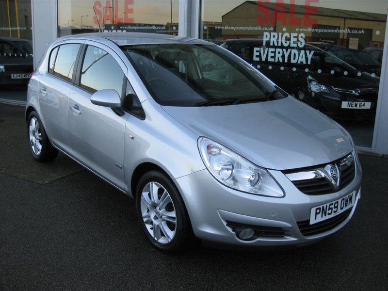 used Vauxhall Corsa Design 1.4i 16v 5dr Auto RAC Warranty in louth