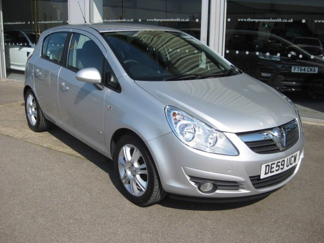 used Vauxhall Corsa Design 1.2i 16v 5dr RAC Warranty in louth