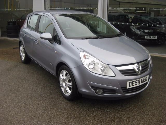 used Vauxhall Corsa Design 1.4i 16v 5dr A/C LOW MILEAGE in louth