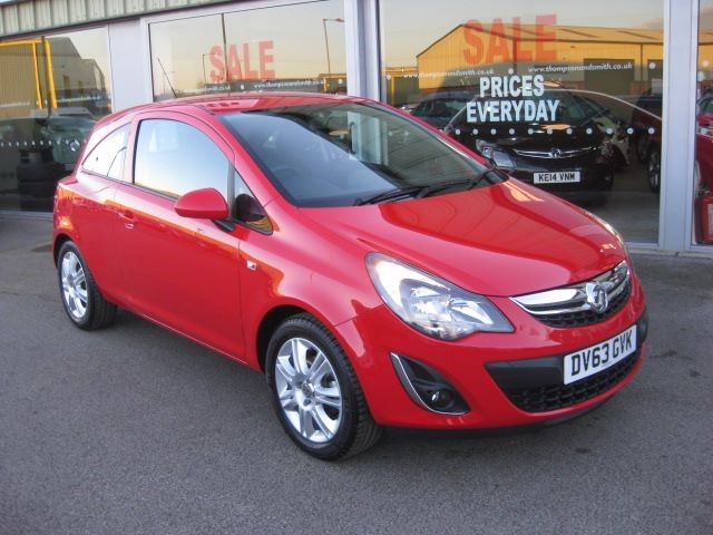 used Vauxhall Corsa Energy 1.2i 16v 3dr AC  in louth