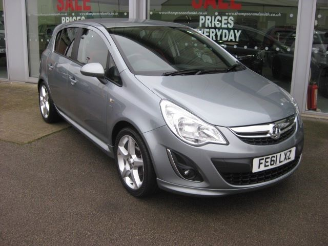 used Vauxhall Corsa SRi 1.4i 16v 5dr RAC Warranty in louth