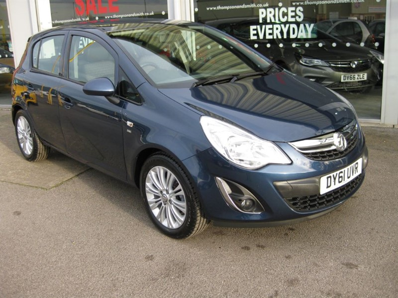 used Vauxhall Corsa SE 1.4i 16v VVT 5dr LOW MILEAGE in louth