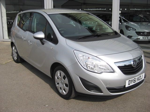 used Vauxhall Meriva Exclusiv 1.4i 100PS 5dr LOW MILEAGE in louth