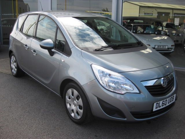 used Vauxhall Meriva Exclusiv 1.4i 140PS Turbo 5dr LOW MILEAGE in louth