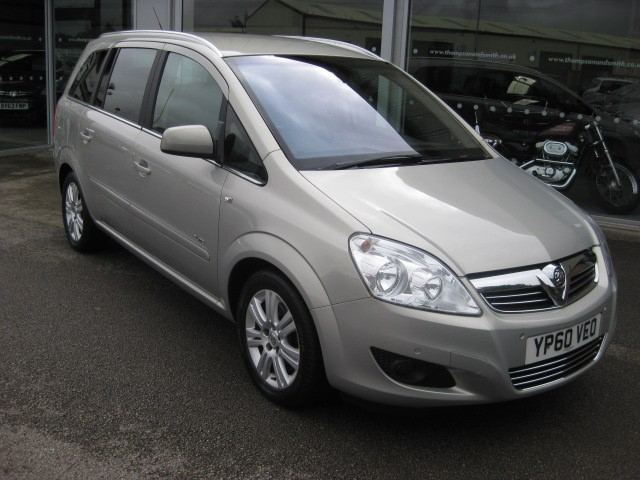 used Vauxhall Zafira Elite 1.7CDTi 110PS ecoFLEX 5dr RAC Warranty in louth