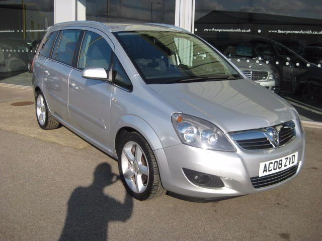 used Vauxhall Zafira SRi 1.8i 16v VVT 5dr RAC Warranty in louth