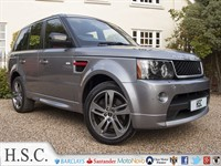 Used Land Rover Range Rover Sport SDV6 HSE RED