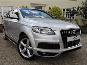 used Audi Q7 TDI QUATTRO S LINE PAN ROOF in chelmsford-essex