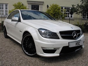 used Mercedes C63 AMG EDITION 125 in chelmsford-essex