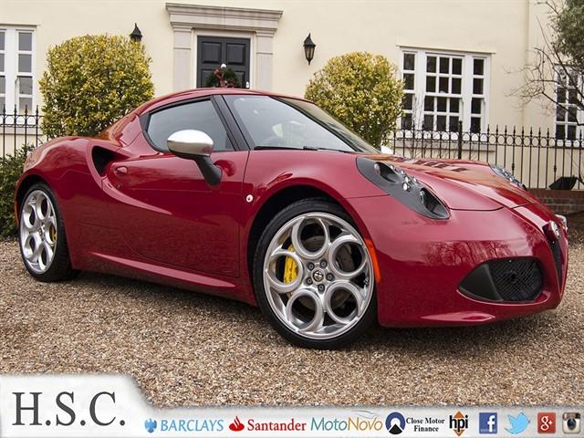 used Alfa Romeo 4C TBI in chelmsford-essex