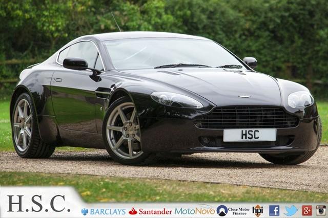 used Aston Martin Vantage V8 in chelmsford-essex