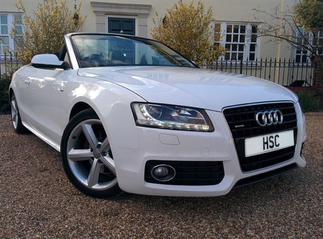 Click here for more details about this Audi A5 TDI QUATTRO S LINE