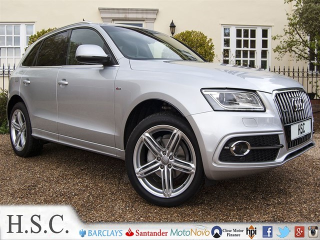 used Audi Q5 TDI QUATTRO S LINE PLUS in chelmsford-essex