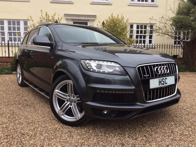 Click here for more details about this Audi Q7 TDI QUATTRO S LINE