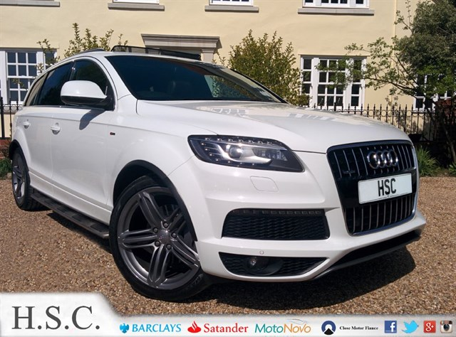Click here for more details about this Audi Q7 TDI QUATTRO S LINE PLUS