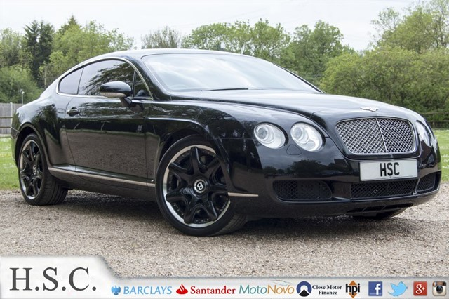 used Bentley Continental GT 6.0 GT in chelmsford-essex