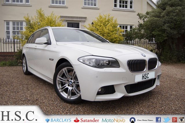Click here for more details about this BMW 520d M SPORT TOURING