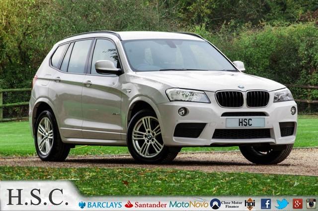used BMW X3 XDRIVE20D M SPORT in chelmsford-essex