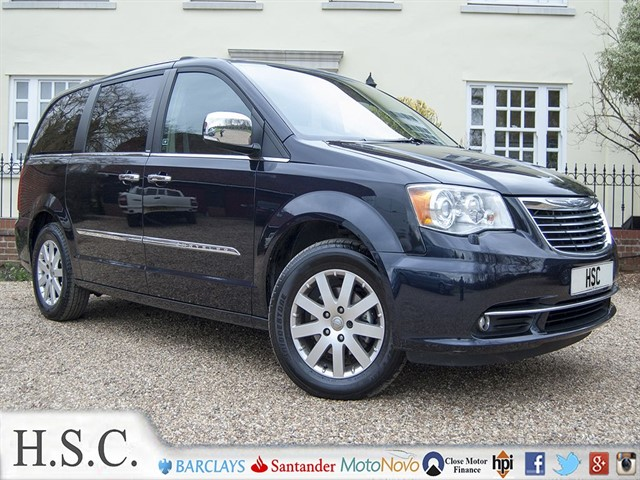 used Chrysler Grand Voyager CRD LIMITED in chelmsford-essex
