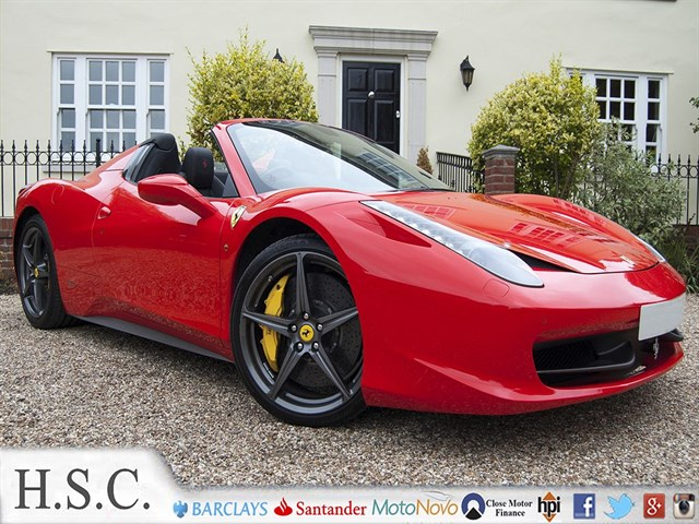 Click here for more details about this Ferrari 458 SPIDER DCT