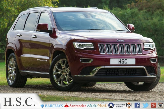 used Jeep Grand Cherokee V6 CRD SUMMIT in chelmsford-essex