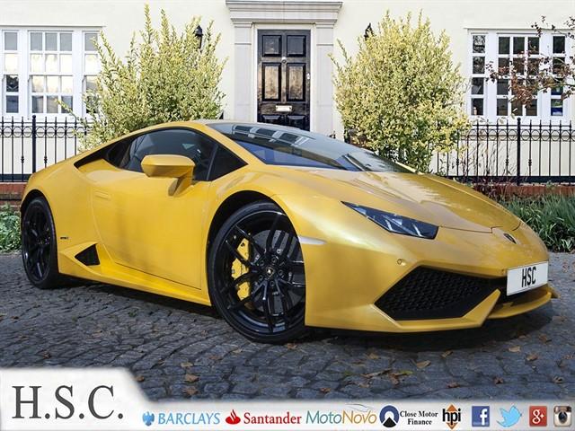 used Lamborghini Huracan LP 610-4 in chelmsford-essex