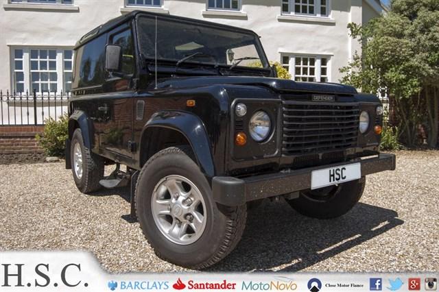 Land Rover Defender 25Td5 County Hard Top 3d