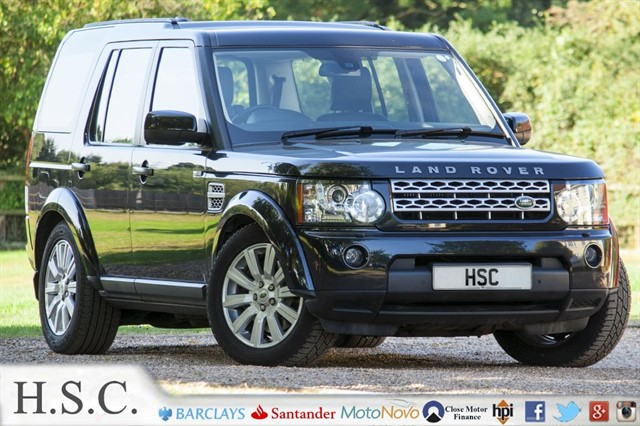used Land Rover Discovery 4 SDV6 HSE in chelmsford-essex
