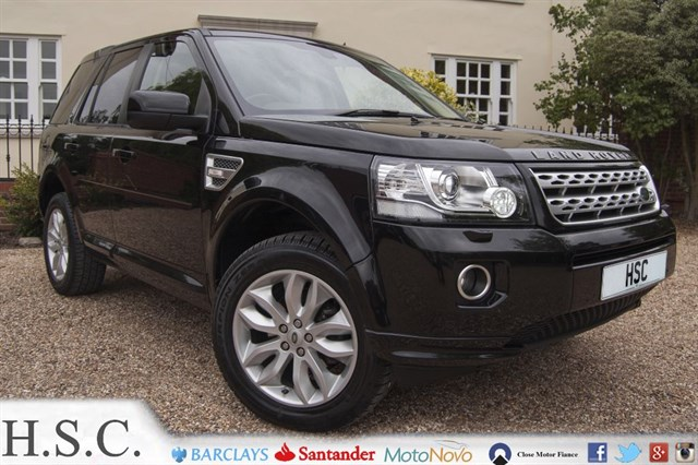 Click here for more details about this Land Rover Freelander TD4 HSE