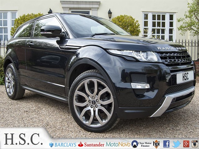 used Land Rover Range Rover Evoque SD4 DYNAMIC in chelmsford-essex