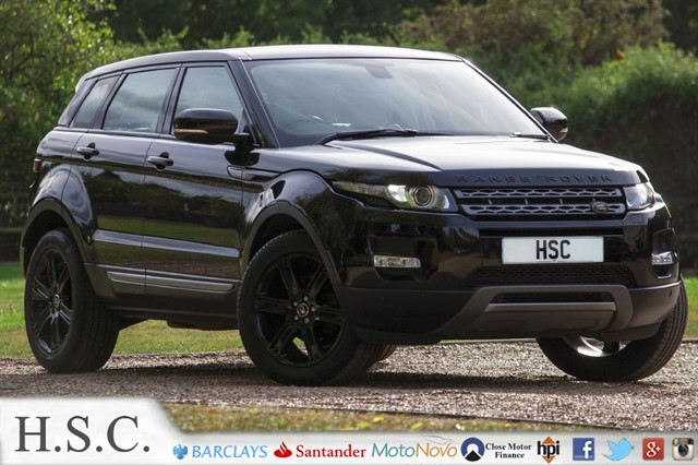 used Land Rover Range Rover Evoque SD4 PURE TECH in chelmsford-essex