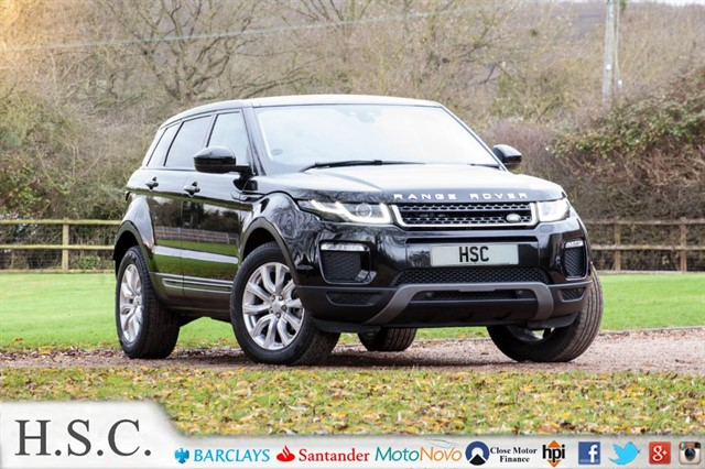 used Land Rover Range Rover Evoque ED4 SE TECH in chelmsford-essex