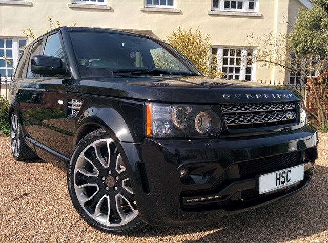 Click here for more details about this Land Rover Range Rover Sport SDV6 OVERFINCH