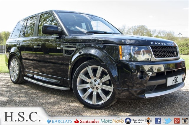 used Land Rover Range Rover Sport TDV6 STORMER EDITION in chelmsford-essex