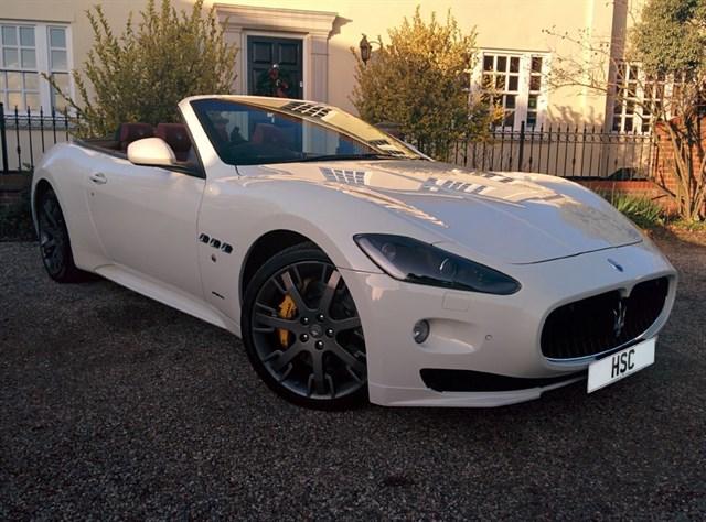 Click here for more details about this Maserati Grancabrio GRAN TURISMO