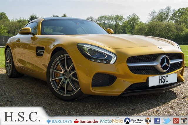 used Mercedes AMG GT AMG GTS PREMIUM in chelmsford-essex