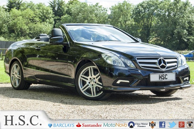 used Mercedes E220 CDI BLUEEFFICIENCY SPORT in chelmsford-essex