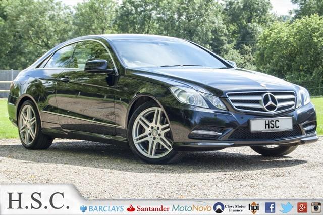 used Mercedes E220 CDI BLUEEFFICIENCY SPORT in chelmsford-essex