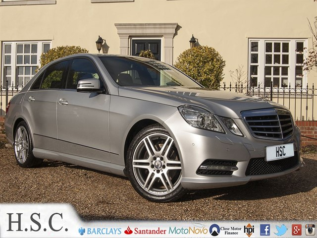 used Mercedes E220 CDI BLUEEFFICIENCY S/S SPORT in chelmsford-essex