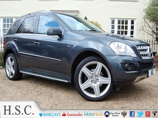 used Mercedes ML300 CDI BLUEEFFICIENCY SPORT in chelmsford-essex