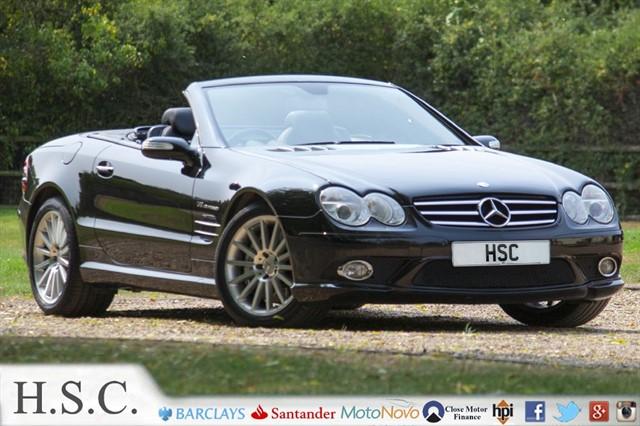 used Mercedes SL55 AMG SL SL55 AMG in chelmsford-essex